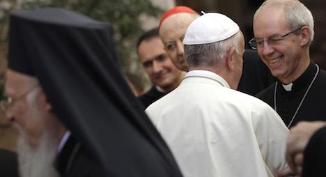 Pope says we should be ashamed of war
