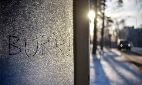 Coldest winter in years predicted for Sweden