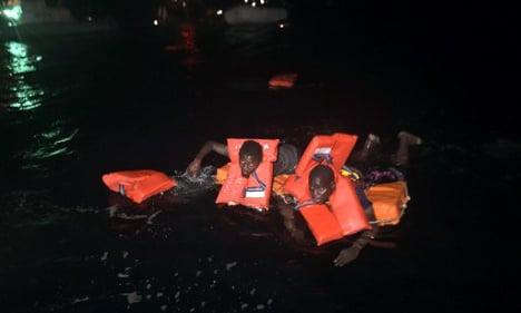 Fifteen migrants lost at sea off Libya in nighttime horror