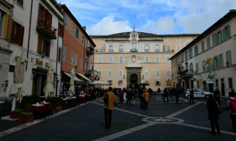 Rooms at Pope's summer residence open to public