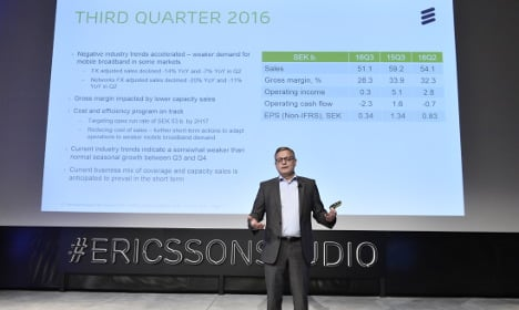More misery for Ericsson as losses pile up
