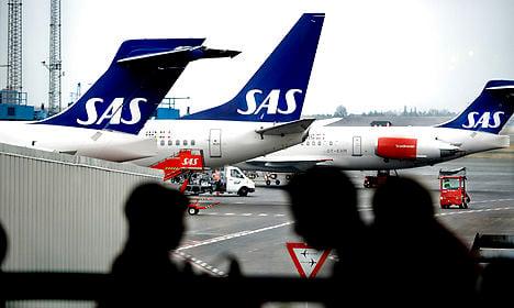 SAS flight delayed after pilot fails alcohol test