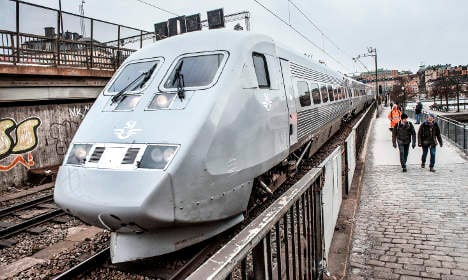 Here's how slow Sweden's high-speed trains are getting
