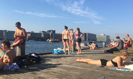 Denmark had a record warm and sunny September