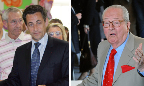 Jean-Marie Le Pen: Sarkozy is more like me than Marine is