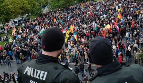 Police criticized for wishing Pegida 'a successful day'