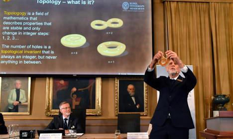 BLOG: Sweden's Nobel Prize in Physics 2016