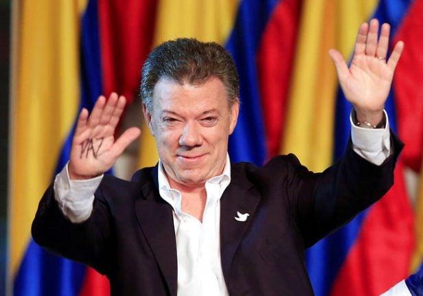 Colombian president wins 2016 Nobel Peace Prize