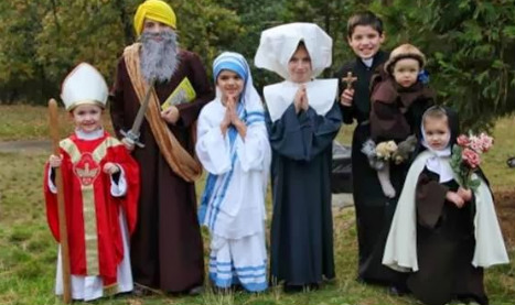 'Saints not ghouls' insists Spanish church for Halloween
