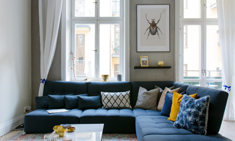 In pictures: Eight Swedish bloggers' living rooms