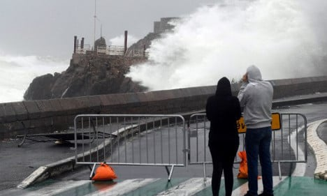 Southern France on alert as rough sea storms continue