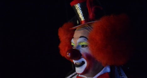 'Scary clown' craze hits streets of Zurich