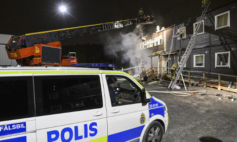 Second Stockholm asylum centre fire in a week