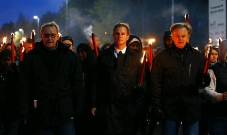 Trollhättan remembers school attack victims