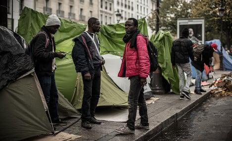 After Calais, France faces growing migrant crisis in Paris
