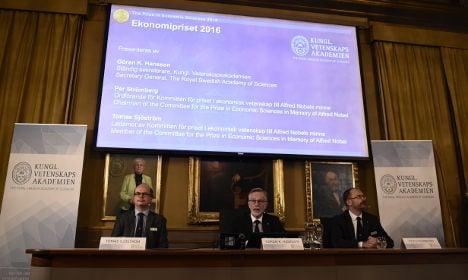 BLOG: Sweden's Nobel Prize in Economics 2016