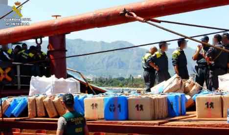 Spain seizes drugs shipment destined to fund terrorism