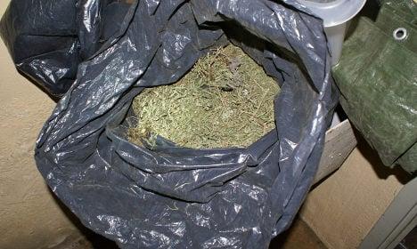Cannabis worth millions seized at Swedish port