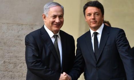 Israel thanks Italy for Jerusalem stance