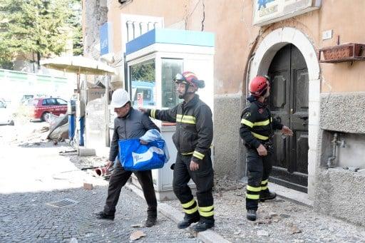 Residents recall 'apocalyptic' earthquake scenes