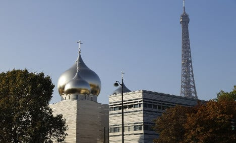 Russia opens new cathedral in Paris, but without Putin