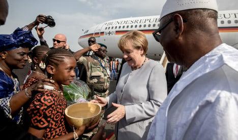 Merkel warns of 'brain drain' in Africa amid refugee influx
