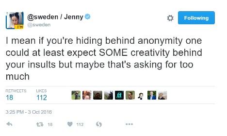 Racist and sexist trolls target Sweden's Twitter account