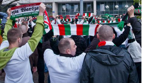 Three Polish fans arrested ahead of Real Madrid clash