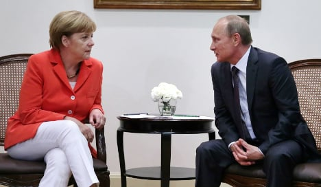 Syria now on the table as Putin comes to Berlin