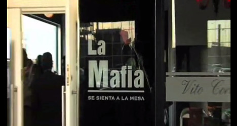 Spanish 'La Mafia' restaurants banned after Italian complaint