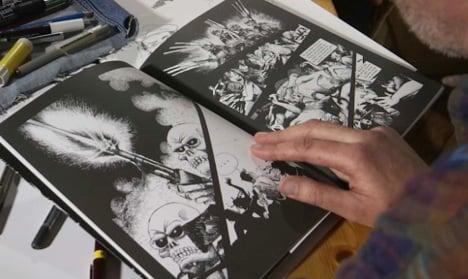 Bataclan survivor recounts attack in chilling drawings