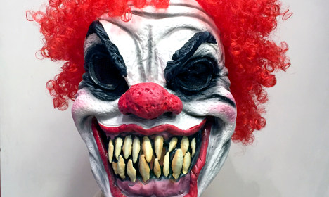 Teen injured in clown craze attack in Sweden