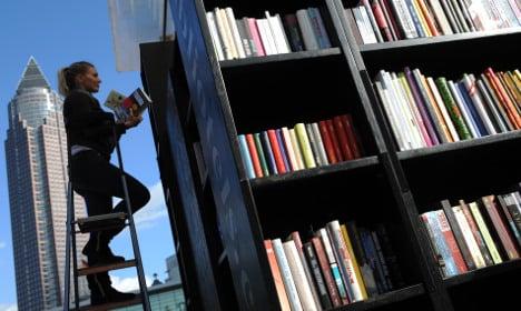 Frankfurt fair shakes up book world with art, virtual reality