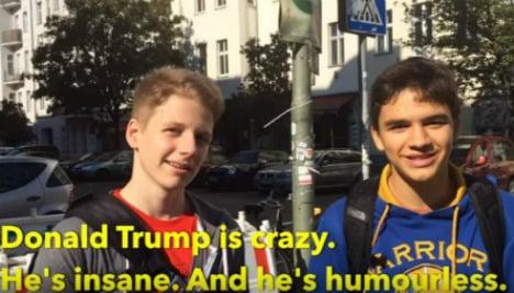 Video: Trump vs. Clinton – what do Germans think?