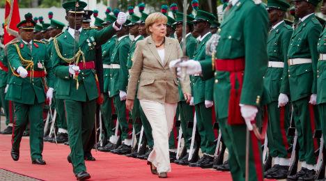 Merkel leaves for Mali with eye on stemming migrant flow