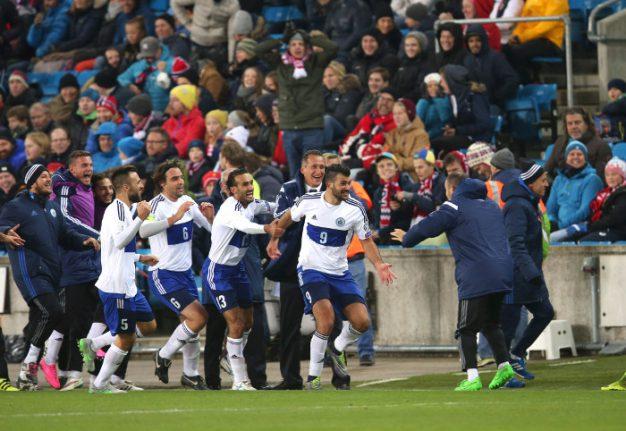 Watch Norwegian pundits lose their minds as San Marino score