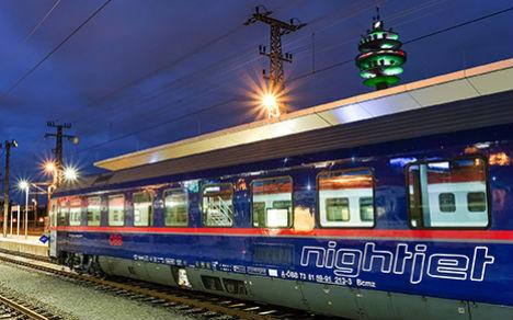 Austrian Railways invests in sleeper trains