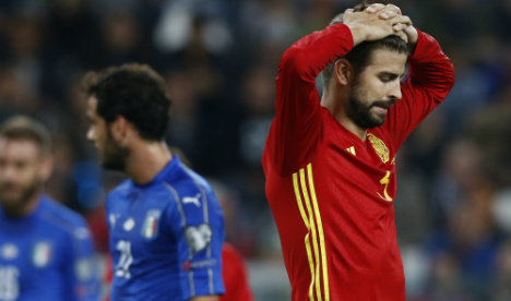 Controversial Pique to quit Spain after 2018 World Cup