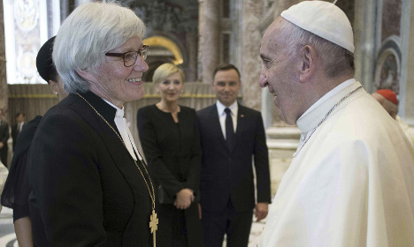 'I want to see women priests in the Catholic Church'