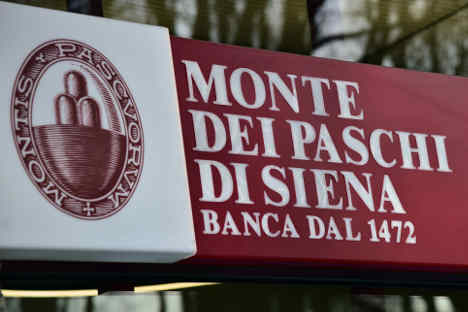 Volatile trading in Italy's troubled BMPS bank