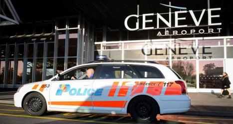 Man makes Geneva airport bomb threat 'for a joke'