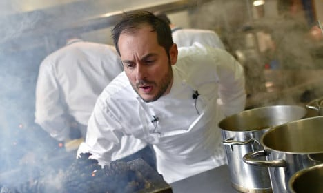 And France's top chef of the year is… 'Monsieur Idiot'