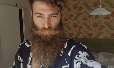 This is officially Sweden's most beautiful beard