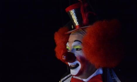 Creepy clown scare spreads to Germany