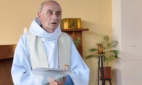 Pope to give slain French priest fast track to sainthood