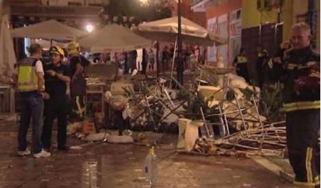 Dozens hurt in café gas blast on Costa del Sol