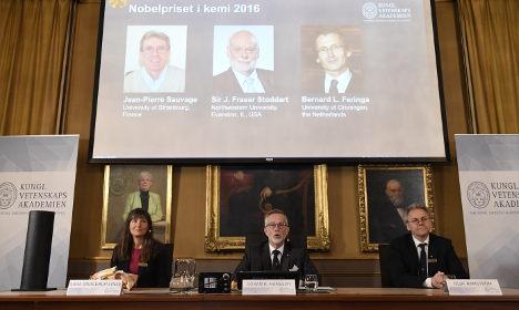 BLOG: Sweden's Nobel Prize in Chemistry 2016