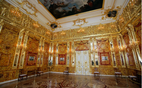 75 years after theft by Nazis, Amber Room still not found