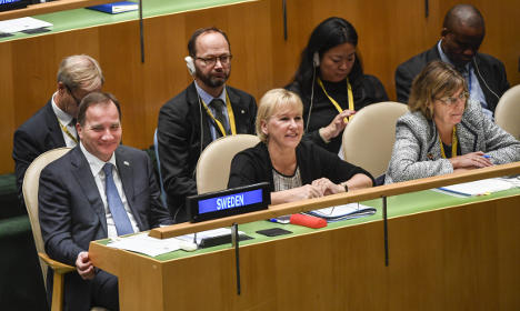 Sweden to vote in favour of UN nuclear weapons ban