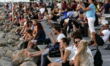 Swedes bake during 'record' warm September